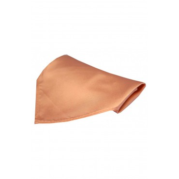 Fashion Handkerchiefs Soprano Ties Soprano Luxury Peach Satin Silk Hanky £20.00