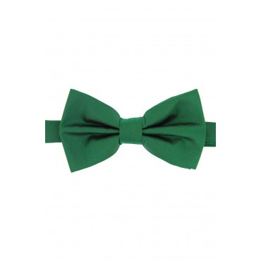 Pre Tied Wedding Bow Ties Soprano Ties Soprano Satin Silk Emerald Luxury Bow Tie £31.00