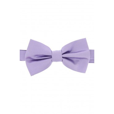 Pre Tied Wedding Bow Ties Soprano Ties Soprano Satin Silk Light Lilac Luxury Bow Tie £31.00