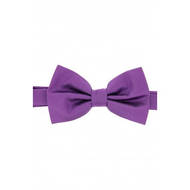Pre Tied Wedding Bow Ties Soprano Ties Soprano Satin Silk Lilac Luxury Bow Tie £31.00