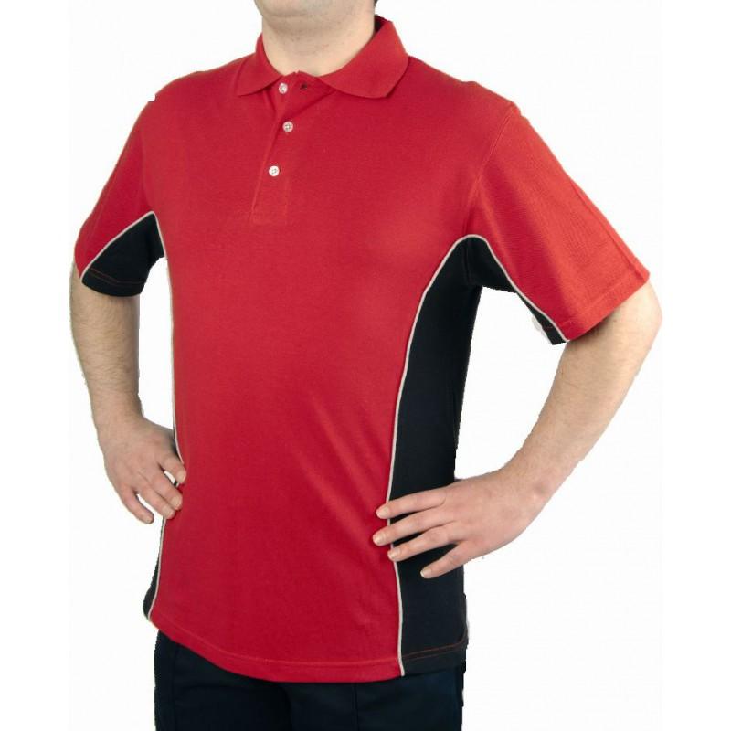 Sports Poloshirts Orn Clothing 1180-Silverstone-Sport-Poloshirt Men Sportswear £24.00