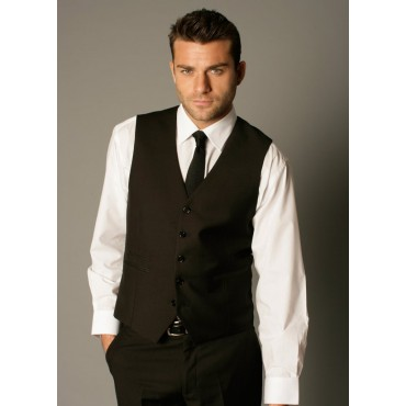 Waistcoats Skopes CorporateWear MM1109-Anthony-Waistcoat-Black Men £35.00