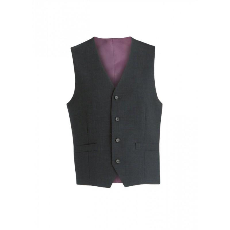 Ohio Skopes CorporateWear MM1127-Ohio-Mens-Waistcoat-Black Men £50.00