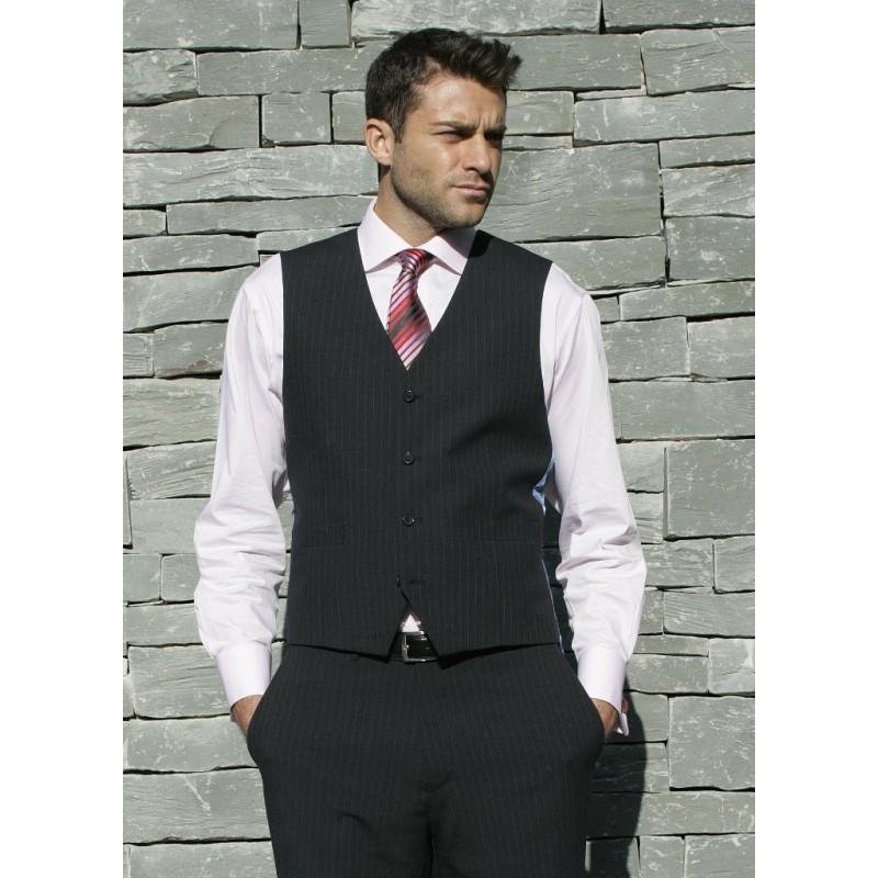 Ohio Skopes CorporateWear MM1128-Ohio-Mens-Waistcoat-Navy-Stripe Men £50.00