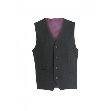Ohio Skopes CorporateWear MM1129-Ohio-Mens-Waistcoat-Black-Stripe Men £50.00