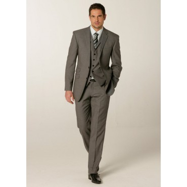 MM1726-Grosvenor-Mens-Jacket-Grey-Birdseye Men