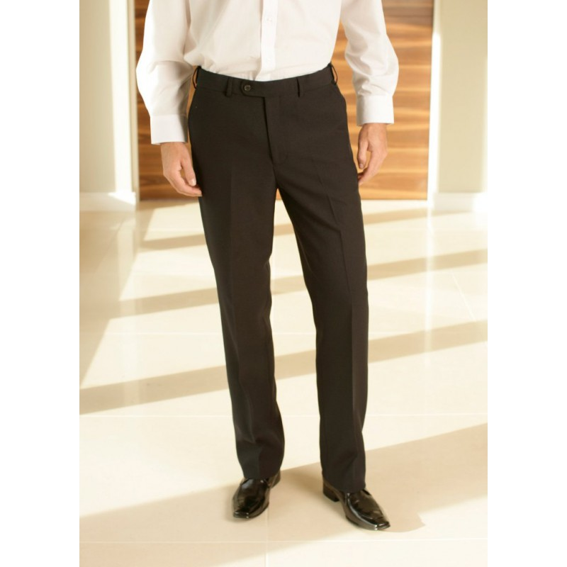 Brooklyn Skopes CorporateWear MM7162-Brooklyn-Trouser-Black Men Trousers 30 48 54 £30.00