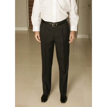 MM7290-Plato-Trouser-Black Men Trousers 30 48 54