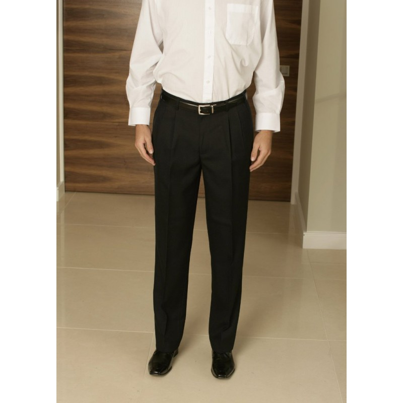 Plato Skopes CorporateWear MM7291-Plato-Trouser-Navy Men Trousers 30 48 54 £42.00