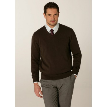 Knitwear Skopes CorporateWear MMK402-Primo-Mens-Sweater-Charcoal Knitwear £41.00