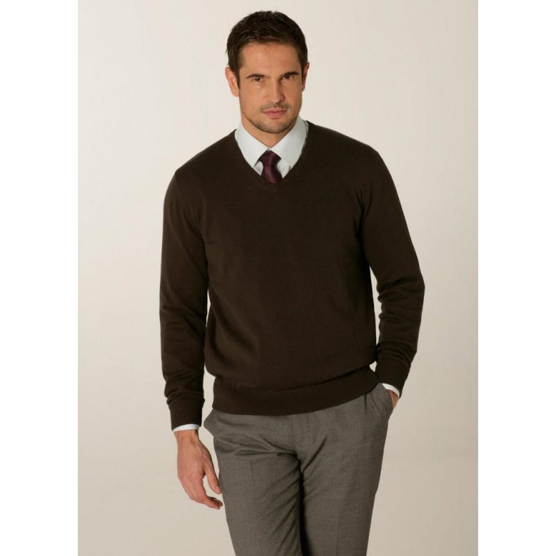 Knitwear Skopes CorporateWear MMK402-Primo-Mens-Sweater-Charcoal Knitwear £41.00
