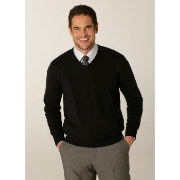 Knitwear Skopes CorporateWear MMK403-Primo-Mens-Sweater-Navy Knitwear £41.00