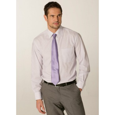 Shirts Skopes CorporateWear SS2002-London-Mens-Shirt-Lilac £30.00