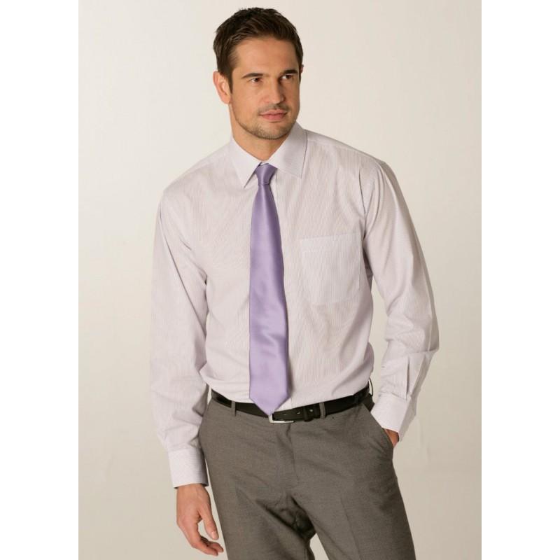 Shirts Skopes CorporateWear SS2002-London-Mens-Shirt-Lilac £30.00