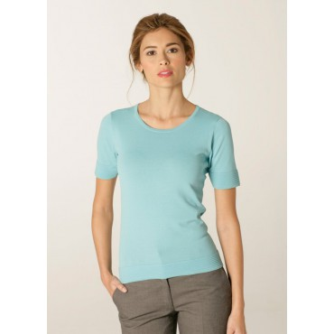 Knitwear Skopes CorporateWear SWK410-Panorama-Ladies-Sweater-Aqua Knitwear Women £43.00