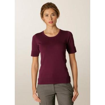 Knitwear Skopes CorporateWear SWK411-Panorama-Ladies-Sweater-Plum Knitwear Women £43.00