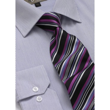 Ties Skopes CorporateWear TAB107-Club Tie-Lilac-Fuchsia Men £14.00