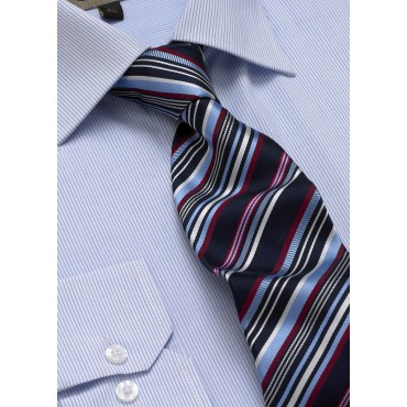Ties Skopes CorporateWear TAB108-Club-Tie-Pale-Blue-Red Men £14.00