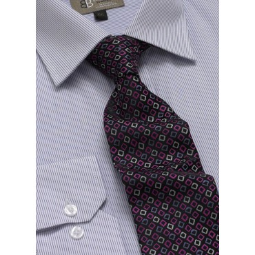 Ties Skopes CorporateWear TAB110-Diamonds-Tie-Lilac-Fuchsia Men £14.00