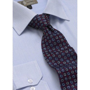 Ties Skopes CorporateWear TAB111-Diamonds-Tie-Pale-Blue-Red Men £14.00