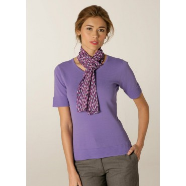 Scarves Skopes CorporateWear WA119-Petal-Scarf-Lilac-Fuchsia Scarve Women £15.00