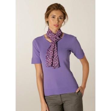 WA119-Petal-Scarf-Lilac-Fuchsia Scarve Women