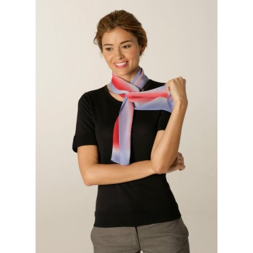 Scarves Skopes CorporateWear WA123-Palette-Scarf-Pale-Blue-Red Scarve Women £15.00