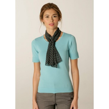 Scarves Skopes CorporateWear WA127-Diamonds-Scarf-Aqua-Plum Scarve Women £15.00