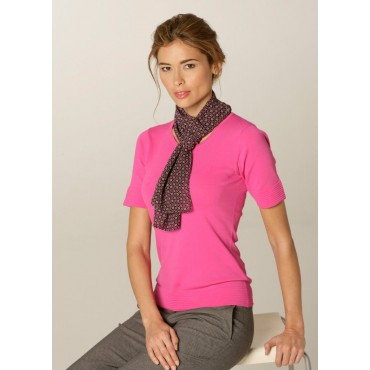 Scarves Skopes CorporateWear WA128-Diamonds-Scarf-Lilac-Fuchsia Scarve Women £15.00