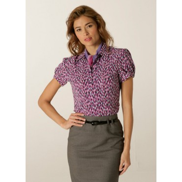 Blouses Skopes CorporateWear WWB113-Petals-Blouse-Lilac-Fuchsia Women £30.00