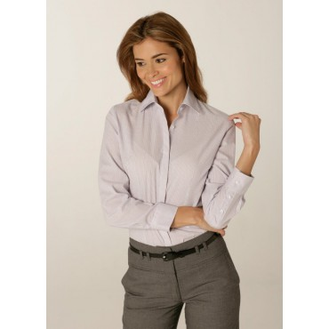 Shirts Skopes CorporateWear WWB116-London-Ladies-Shirt-Lilac Women £30.00