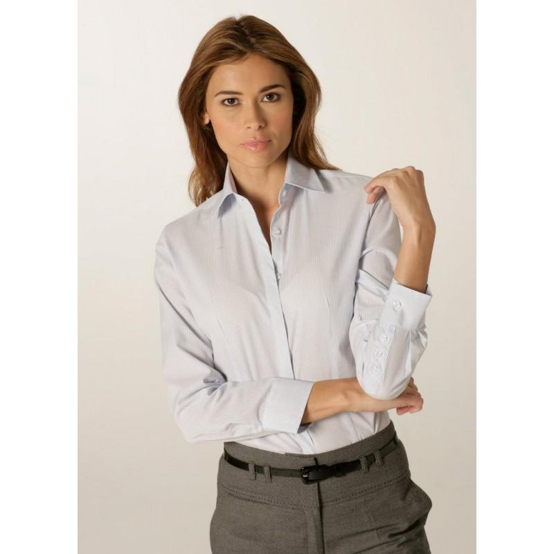 Shirts Skopes CorporateWear WWB117-London-Ladies-Shirt-Pale-Blue Women £30.00