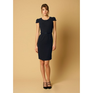 Gigi Skopes CorporateWear WWD251-Gigi-Shift-Dress-Navy Women Dresse £60.00