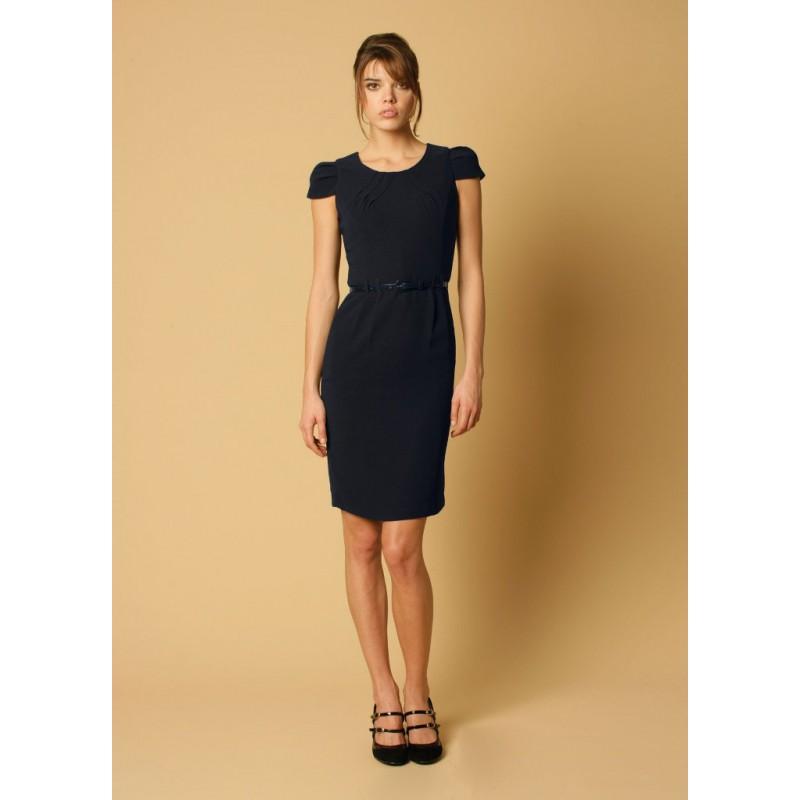 Gigi Skopes CorporateWear WWD251-Gigi-Shift-Dress-Navy Women Dresse £60.00