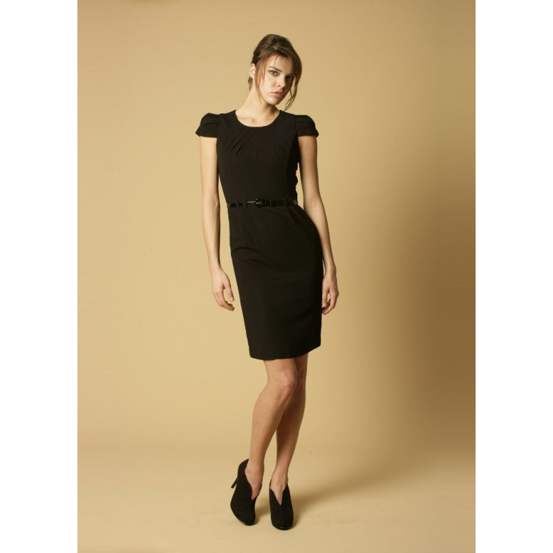 Gigi Skopes CorporateWear WWD254-Gigi-Shift-Dress-Black Women Dresse £60.00
