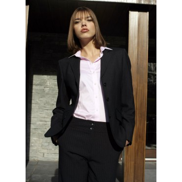Juliette Skopes CorporateWear WWJ252-Juliette-Jacket-Navy-Stripe Women £113.00