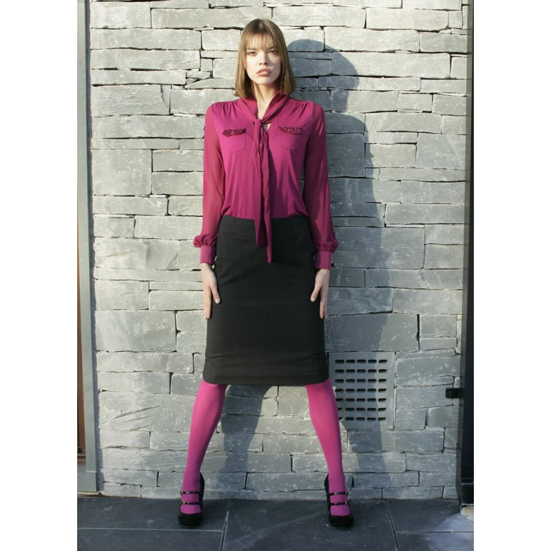 WWS256-Marie-Skirt-Charcoal Women