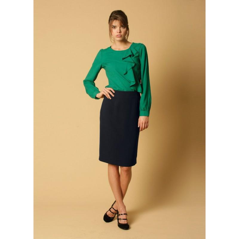Sylvie Skopes CorporateWear WWS331-Sylvie-Skirt-Navy Women £34.00