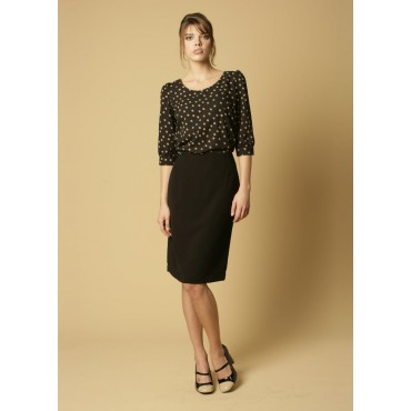 Sylvie Skopes CorporateWear WWS334-Sylvie-Skirt-Black Women £34.00
