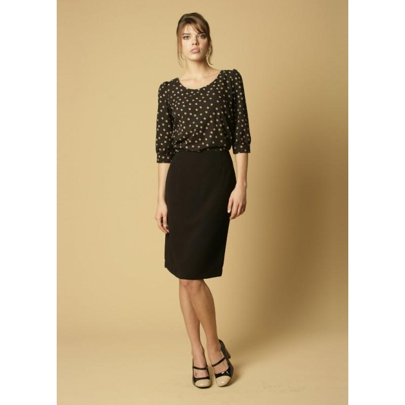 Sylvie Skopes CorporateWear WWS334-Sylvie-Skirt-Black Women £34.00