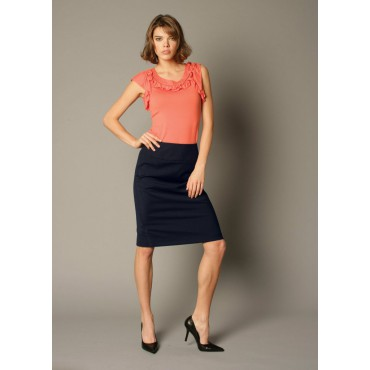 Skirts Skopes CorporateWear WWS471-Odette-3000-Skirt-Navy Women £50.00