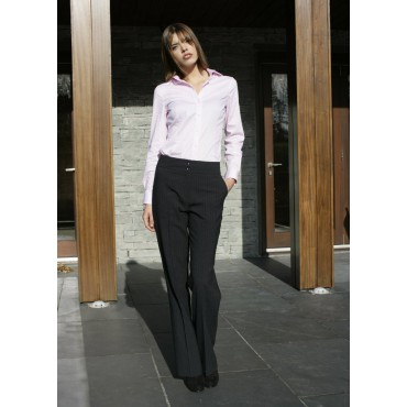 WWT262-Monique-Trouser-Navy-Stripe Women Trousers