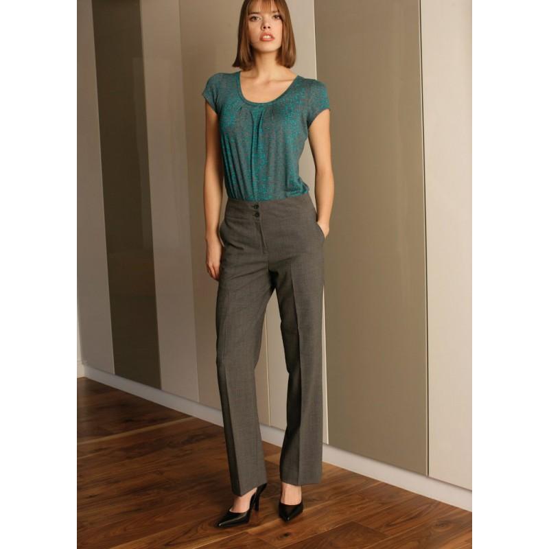 Monique Skopes CorporateWear WWT263-Monique-Trouser-Grey Women Trousers £65.00