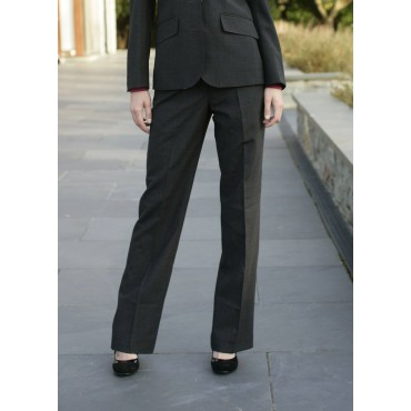 Monique Skopes CorporateWear WWT266-Monique-Trouser-Charcoal Women Trousers £65.00