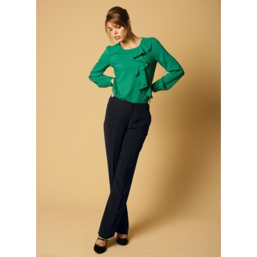 WWT271-Zoe-Trouser-Navy Women Trousers 28