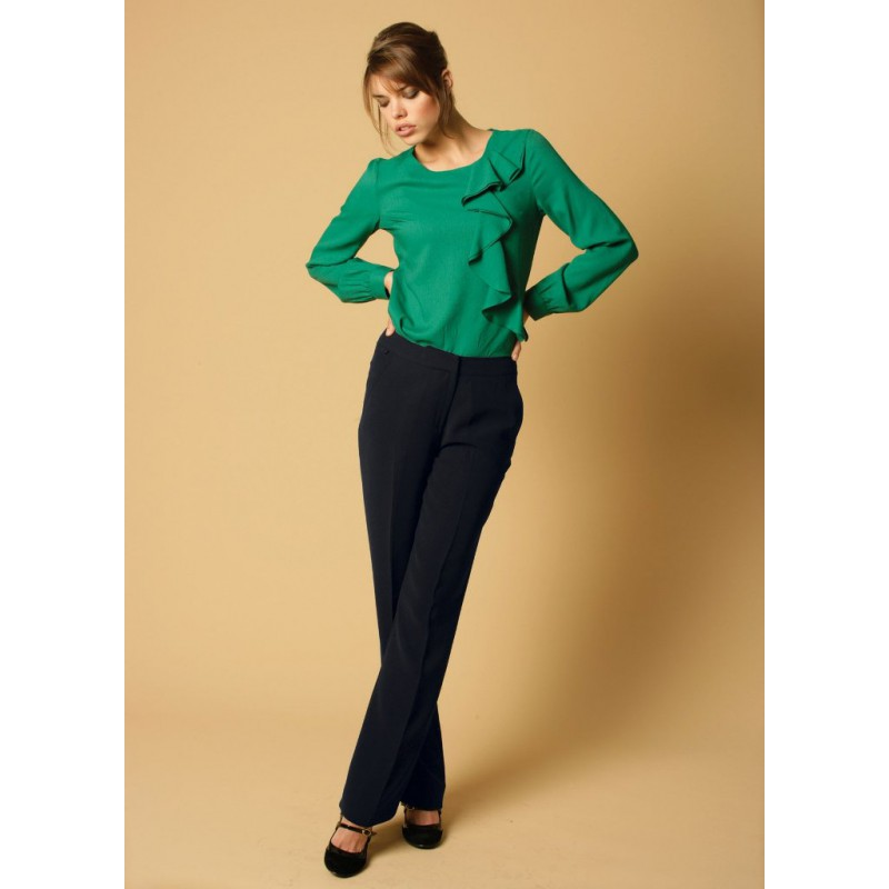 Zoe Skopes CorporateWear WWT271-Zoe-Trouser-Navy Women Trousers 28 £30.00