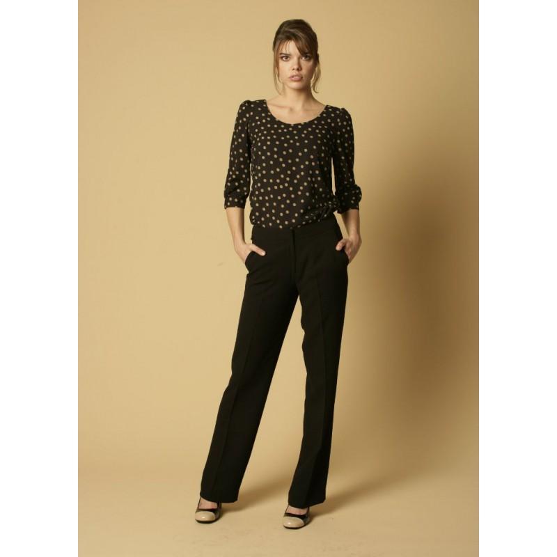 Zoe Skopes CorporateWear WWT274-Zoe-Trouser-Black Women Trousers 28 £30.00