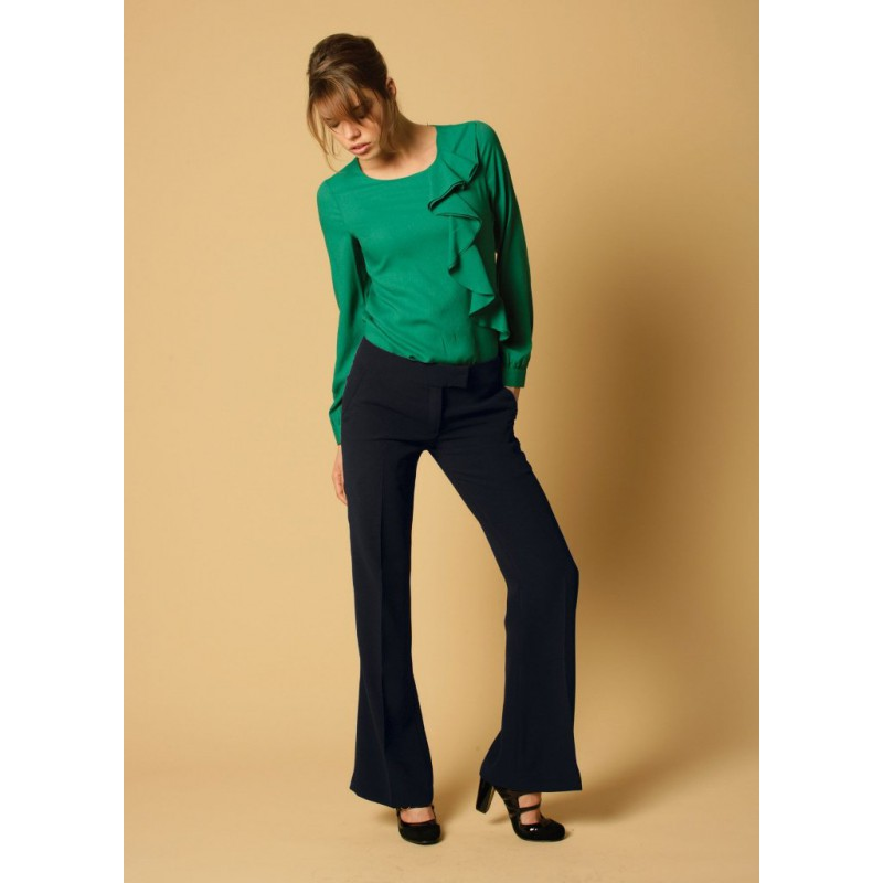 Giselle Skopes CorporateWear WWT341-Giselle-Trouser-Navy Women Trousers 28 £36.00