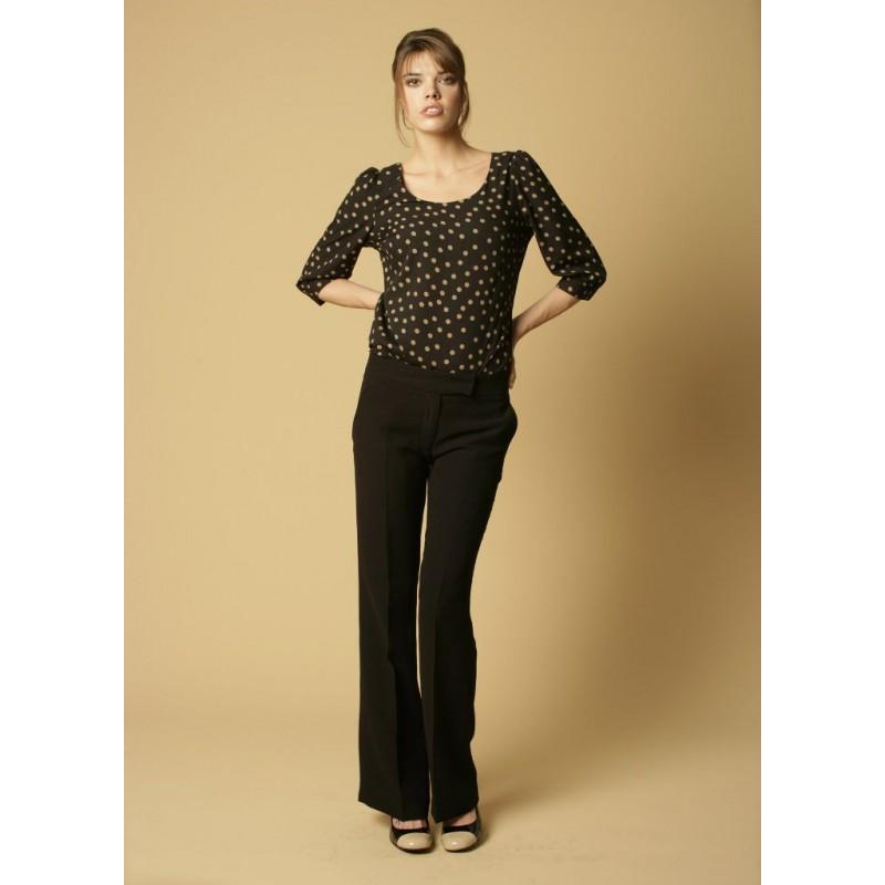 Giselle Skopes CorporateWear WWT344-Giselle-Trouser-Black Women Trousers 28 £36.00