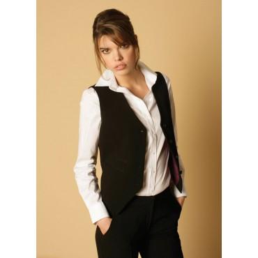 Waistcoats Skopes CorporateWear WWW254-Nina-Waistcoat-Black 28 Women £30.00
